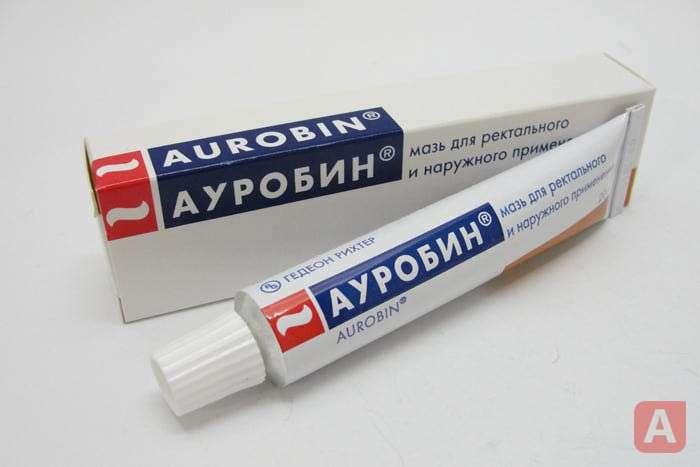 Ауробин при геморрое: как правильно использовать.