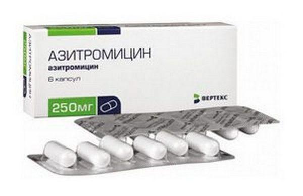 Антибиотик Азитромицин при аппендиците.