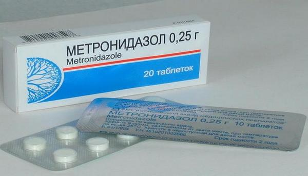 мотронидазол при аппендиците