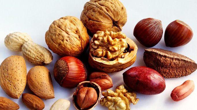 Орехи- лучшие продукты для здоровья простаты