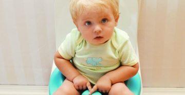 Детский запор: лечение, домашние средства и факторы риска