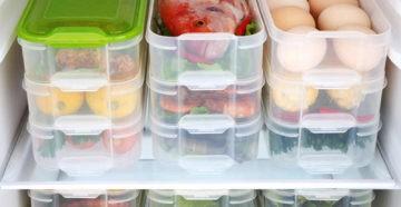 Безопасно ли замораживать продукты в пластиковых контейнерах?